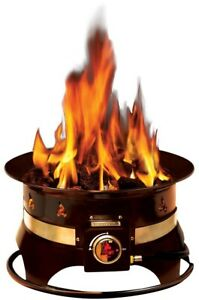 Outland Firebowl 19 in Steel Portable Outdoor Propane Fire ... on Outland Firebowl Propane Fire Pit id=40118