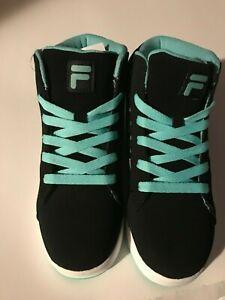Fila High Tops Girls Shoes Size 2.5