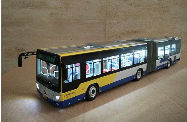 1 43 Foton BJ6160C6CCD Articulated Bus Die Cast Model