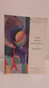 Libri-Antichi-Romantiche-E-Moderno-1994-Catalogue