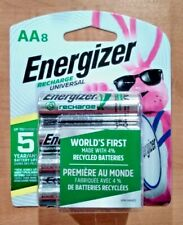 Energizer Rechargeable AA Batteries NiMH 2000 mAh Pre-Charged Pack 8 - UNH15BP-8