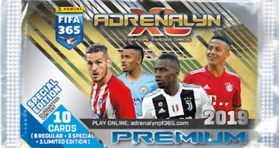 PANINI ADRENALYN XL Premier League 2019//2020 2 X Premium Display//20 booster