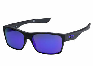 a1738a24d0 Oakley Men s Mirrored Twoface OO9189-08 Black Rectangle Sunglasses ...