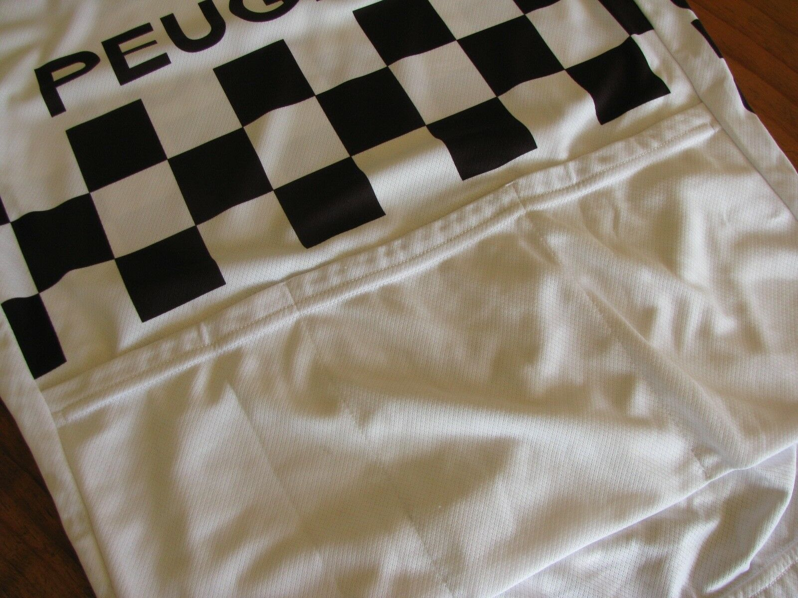 PEUGEOT (by cycling Santini) RETRO short sleeve cycling (by jersey. Size XS a1dab6