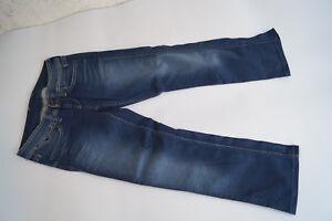 PEPE-JEANS-Banji-Damen-stretch-Hose-Capri-7-8-Bermuda-W30-stonewashed-blau-TOP-1