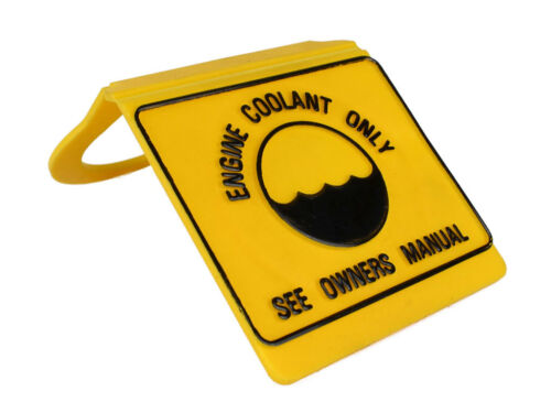 Jeep Cherokee XJ Coolant Bottle Cap Yellow Direct OEM Replacement FREE SHIPPING