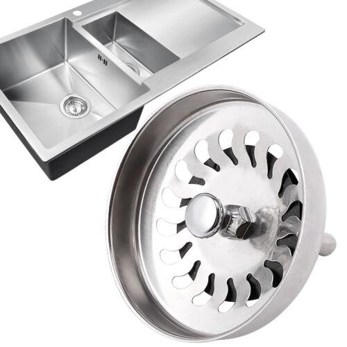 1pc Filtre Bouchon pour évier Filtrer déchet métal 8cm 2pcs