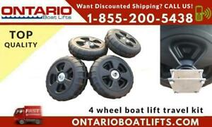 4 Wheel Boat Lift Travel Kit - Ontario Boat Lifts - Call about Shipping or Pickup Canada Preview