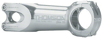 Thomson Elite X4 montaña tallo 130 mm + - 10 grado 31.8 1-1 8  Rosca Plata