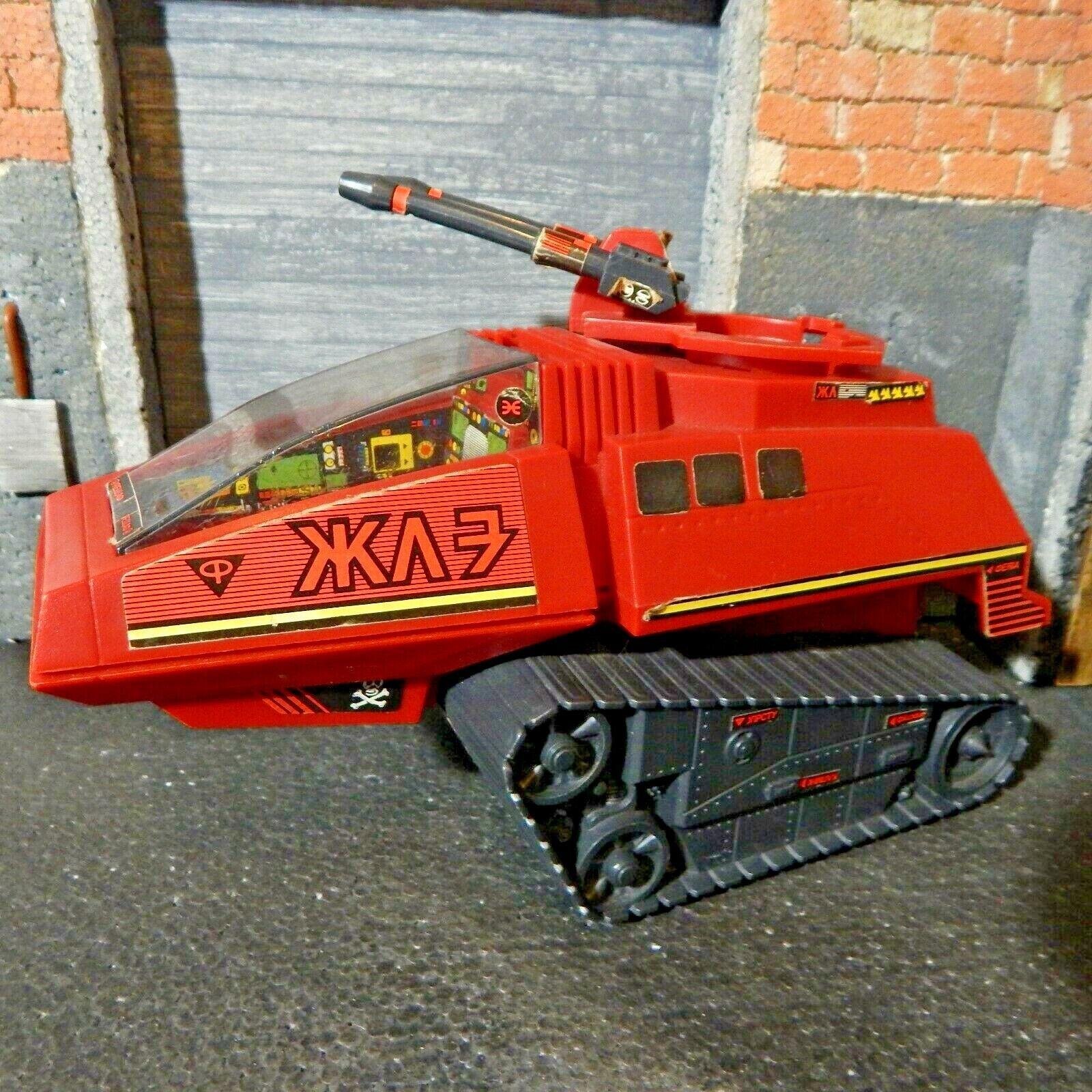 Gi joe  1984 Hyène TANK  UK Palitoy  ACTION FORCE  levage Guns Stay