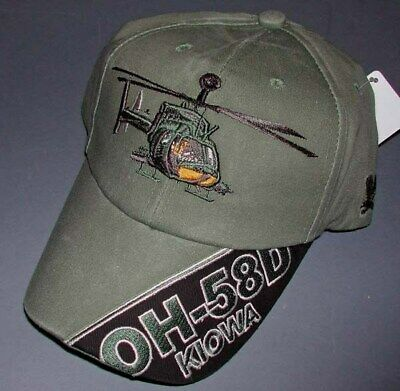 US Army Bell helicopter AH-1 Cobra cap OD Green