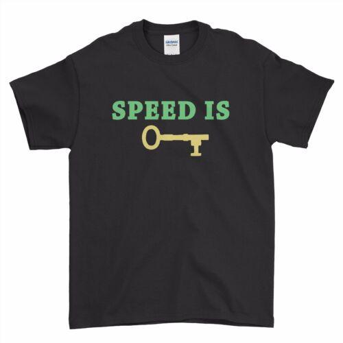 Jacksepticeye Jack Septic Eye Speed is the Key Boys Men T Shirt Top Tee