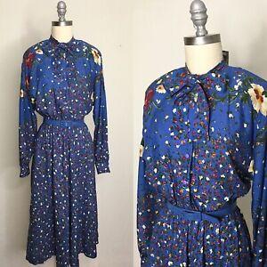 Vintage-80s-Petrina-Floral-Sundress-Size-Small-Medium