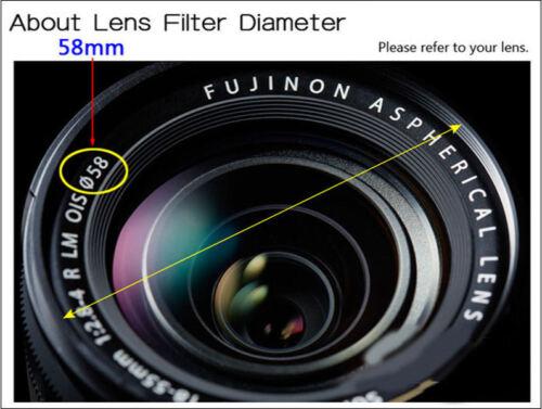 LC-72 Centro Pizca Tapa del objetivo para Nikon Lentes Fit 72mm rosca de filtro-Reino Unido Vendedor