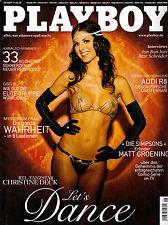 Playboy 08/2007      CHRISTINE DECK*     August/2007