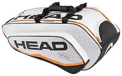 HEAD NOVAK DJOKOVIC COMBI - 6 pack tennis racquet racket bag - Authorized Dealer