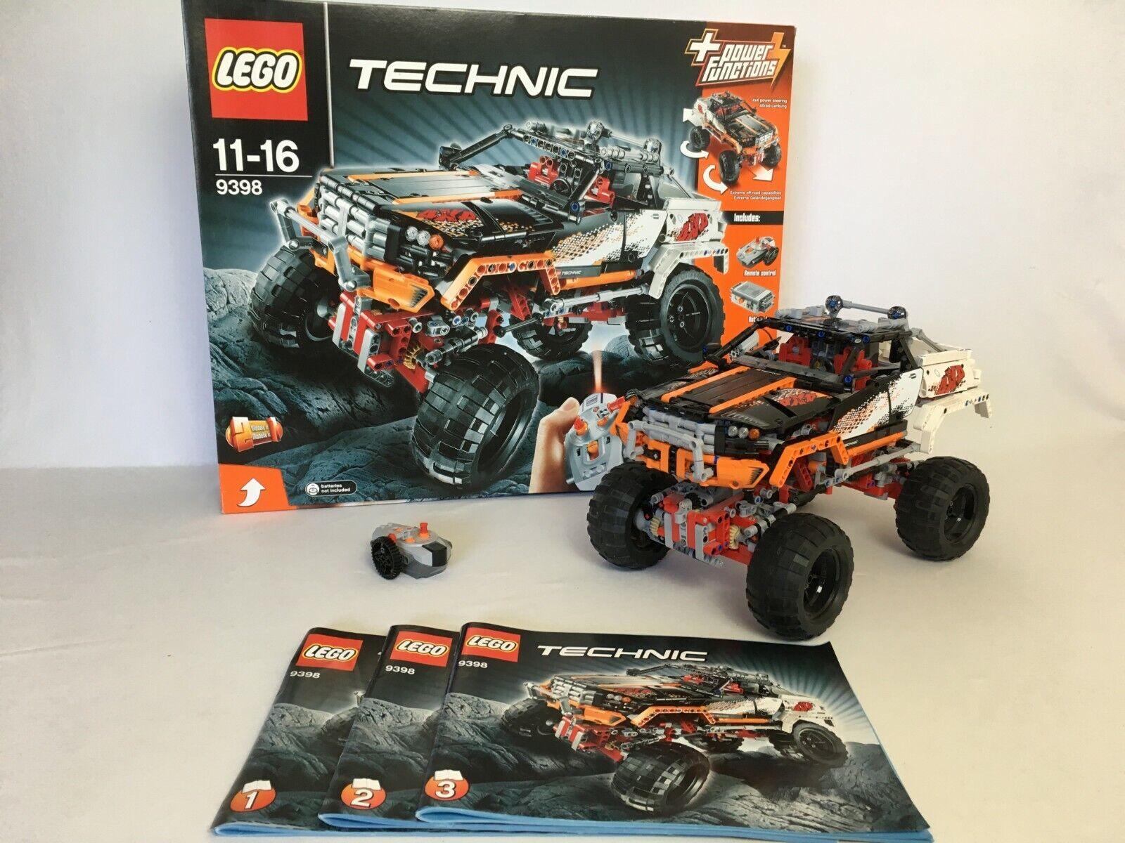 LEGO ® Technic 9398  4x4 OFFstradaER  risparmia il 50% -75% di sconto