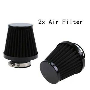 2X 60mm Air Filter Pod Cleaner for Bike Dirt ATV Quad Pit Motorcycle Scooter