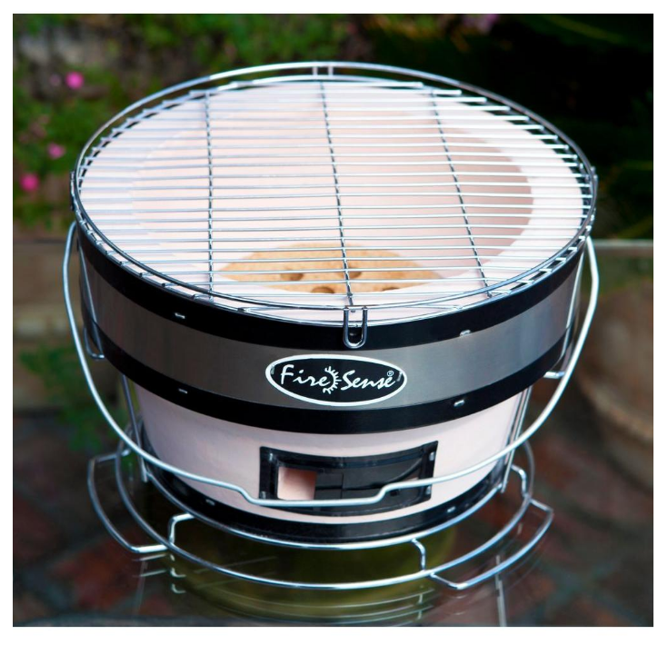NEW: Small & Round Tailgating Japanese Yakatori Compact Table Grill (Charcoal)