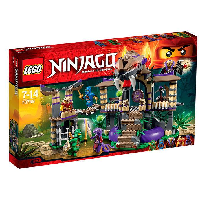 LEGO® 70749 NINJAGO™ Tempel der Anacondrai Schlange 2015 Neu OVP New