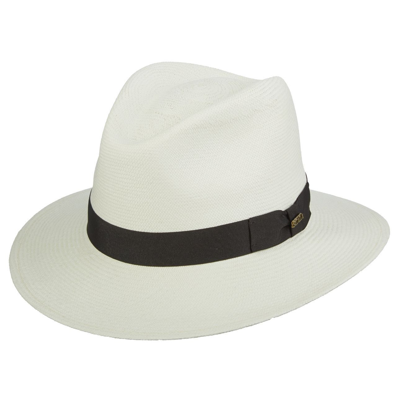 FQH Bulldog Shape GRADE Hat 8 Downturn Ecuadorian Panama Hat GRADE 18b280