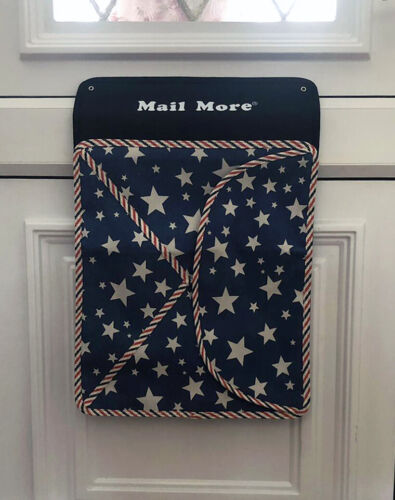 Mail More Mail Catcher Letterbox Cage Letter Bag Post Catcher Mail Box BLUE V01