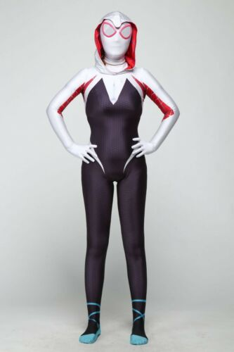 Spider Woman Gwen Stacy Cosplay Costume