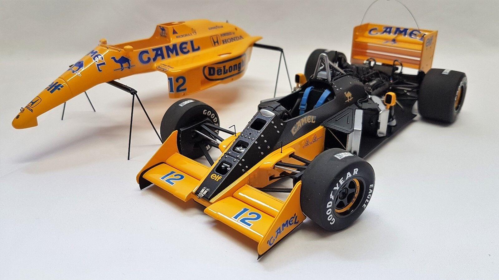 Autoart  88728 - Lotus Type 99T Ayrton Senna Japanese Grand Prix 1987