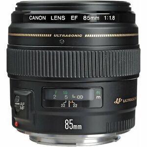 Canon EF 85mm f/1.8 USM Medium Teleobjektiv für Canon SLR Kameras-Feste