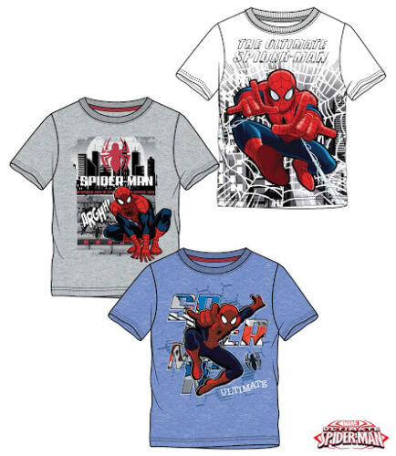 Top  Age 4,5,6,8,10 New collection Boys Spiderman Short Sleeve T-shirt