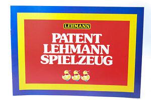 Katalog  LEHMANN PROSPEKT PATENT LEHMANN SPIELZEUG Prospekt A LGB Buch