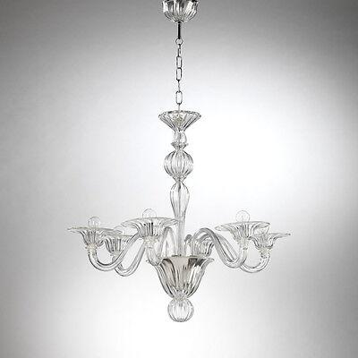 Ca' Casanova Kronleuchter 6 lights crystal
