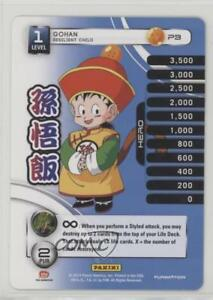 2014-Panini-039-s-Dragonball-Z-TCG-Set-1-Premiere-P3-Gohan-Gaming-Card-1i3