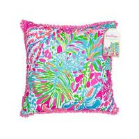 Lilly Pulitzer Large Pillow Spot Ya Indoor/outdoor Home Decor