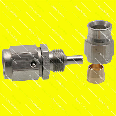 AN3 Stainless Steel Straight PTFE Swivel Hose End Fitting Adapter