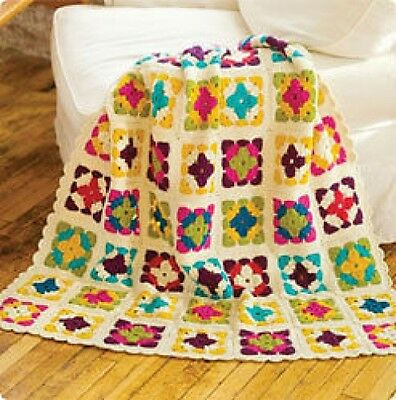 blanket throw crochet pattern 99p