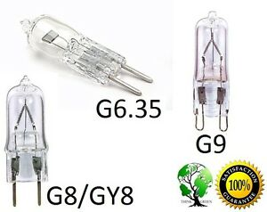 Ultra Halogen Bi-Pin 120V Volt Replacement Bulb Pack of 10 GY6.35 Base 150W
