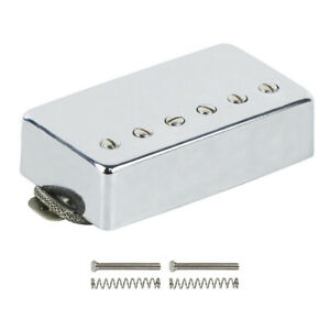 Chrome-Humbucker-Alnico-5-Electric-Guitar-Neck-Pickup-50mm-for-LP-Style-Guitar