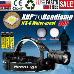 950000LM-XHP70-LED-Headlamp-Zoom-USB-Rechargeable-18650-Headlight-Super-Bright