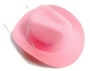 dcbf36ade Details about Pink Western Cowboy Hat Accessories fits 18 inch American  Girl Doll Clothes