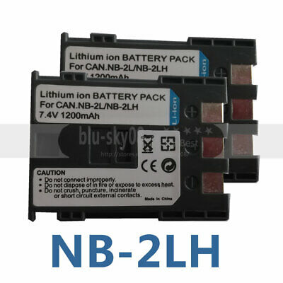NB2L NB-2L BP /_ 2LH Battey cargo para Canon BP-2L5 BP2L5 NB-2LH NB-2L14 HFR106