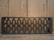 Vintage Style Cast Iron Air Vent Brick / Trivet suits reclaimed bricks beam fire