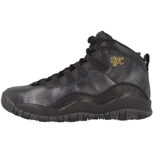 Chaussures Baskets Nike Unisexe BG air Jordan 10 Retro BG Unisexe Taille Noir 3cbe79