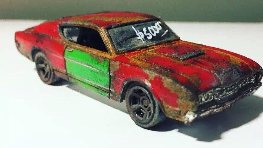 2012 Hot Wheels'69 MERCURY CYCLONE Personalizado Mad Max concepto