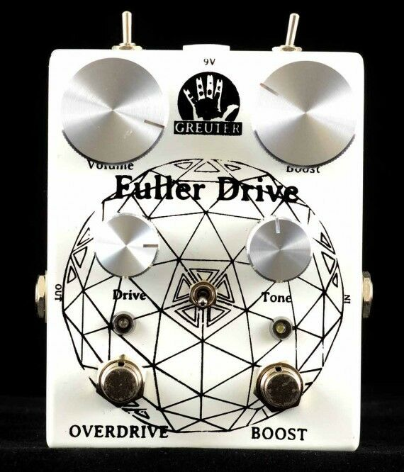 Greuter Audio Fuller Drive   Booster Overdrive mit Booster