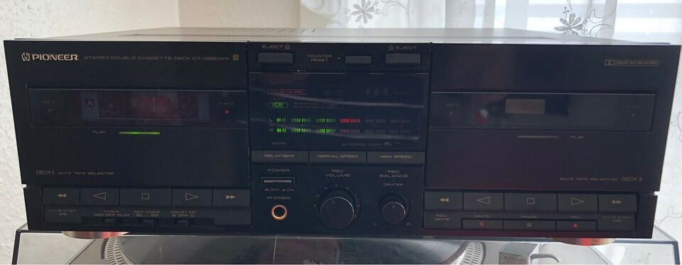 Båndoptager, Pioneer, CT-X550WR