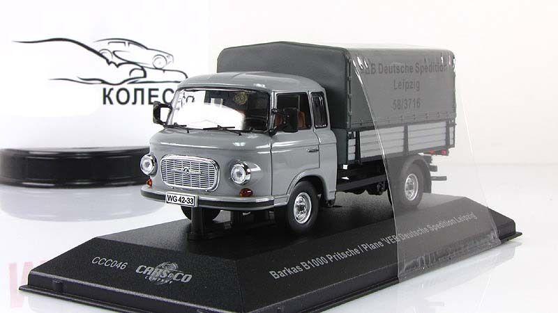 1 43 Ist Cars & Co Barkas B1000 SPEDITION Leipzig 1979 soviétique Est-Allemand CCC046