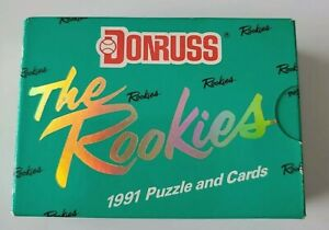 1991 Donruss The Rookies Factory Sealed Set All 56 Cards Brand New GEM MINT