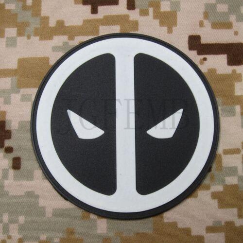 DEadpool Tactical  Airsoft Morale 3D PVC Patch