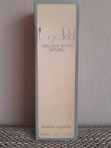 Karl Lagerfeld Eau Der Cologne - orig. Rarität - 125 ml - unbenutzt- Batch Code  lUOqe lAjF9